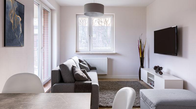 hoe smalle woonkamer inrichten