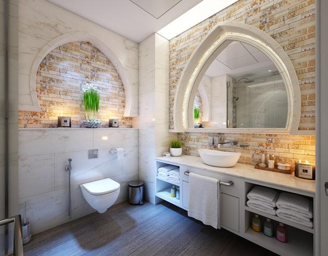 materialen in de badkamer